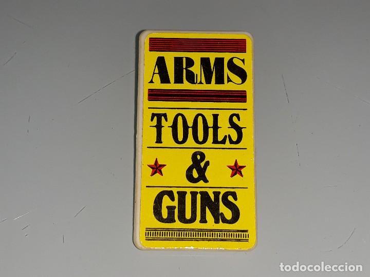 FAMOBIL PLAYMOBIL ANTIGUO CARTEL DEL OESTE CASA DRUG STORE - ARMS TOOLS & GUNS AÑOS 70 / 80 (Juguetes - Playmobil)