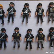 Playmobil: LOTE 10 FIGURAS POLICIA PLAYMOBIL . Lote 130147523
