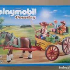 Playmobil: PLAYMOBIL CARRUAJE CON CABALLO (6932). Lote 130445042