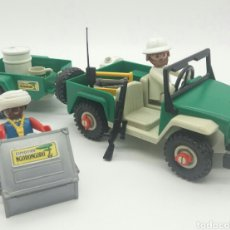 Playmobil: PLAYMOBIL JEEP EXPEDICIÓN NGORONGORO REF 3532 REFERENCIA COMPLETA. Lote 130513791