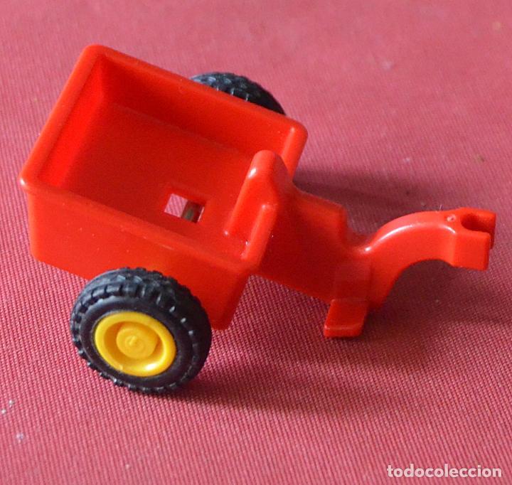 Carrito Carro Remolque De Desguace Rojo Comprar Playmobil