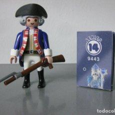 Playmobil: PLAYMOBIL SERIE 14 SOLDADO HISTORICO REF 9443 SOBRES AZUL SOBRE SORPRESA. Lote 172116519