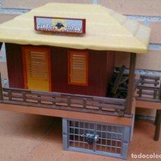 Playmobil: PLAYMOBIL DESGUACE 4826 REFUGIO ANIMALES INCOMPLETO OAMBATI STATION . Lote 130924340