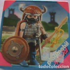 Playmobil: PLAYMOBIL GUERRERO BARBARO (SIN ABRIR-NUEVO). Lote 131076032