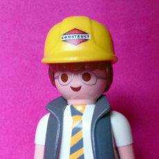 Playmobil: FIGURA PLAYMOBIL ARQUITECTO CONSTRUC, GAFAS Y CORBATA. Lote 141106582