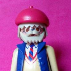 Playmobil: FIGURA PLAYMOBIL ABUELO ELEGANTE CORBATA Y GAFAS. Lote 131102536