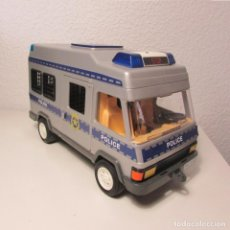 Playmobil - Camión furgón policia playmobil geobra 1994 con luz referencia 4023 - 131327562