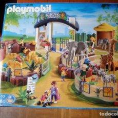 Playmobil: PLAYMOBIL 4850 ZOO CON CAJA. Lote 131360882