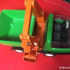 Playmobil - 7655 camión obra grúa defecto enganche trasero roto - 131569270