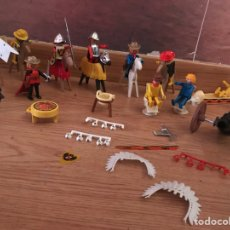 Playmobil: LOTE PLAYMOBIL GEOBRA 1974, AUTENTICOS FAMOBIL, RELIQUIA. Lote 131662295