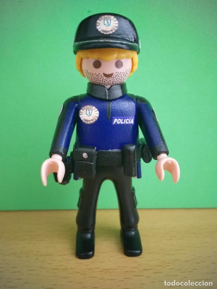 playmobil policia municipal de madrid custom pe - Comprar