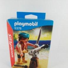 Playmobil: PIRATA CON CAÑON PLAYMOBIL SPECIAL PLUS 5378. Lote 132401310
