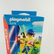 Playmobil: LIMPIADOR DE VENTANAS PLAYMOBIL SPECIAL PLUS 5379. Lote 132401406
