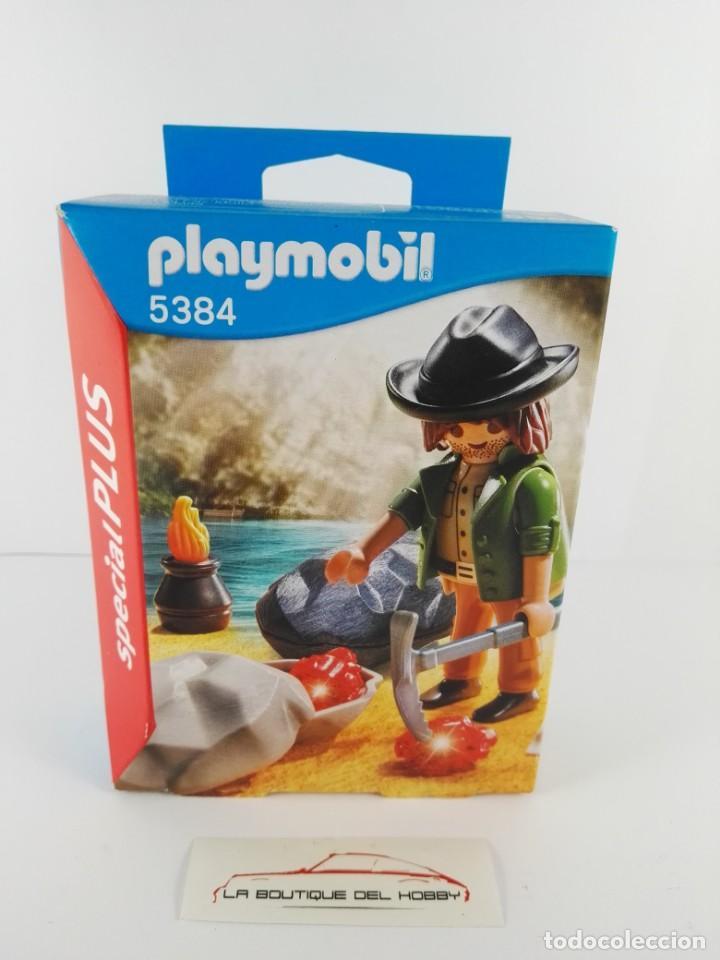BUSCADOR DE GEMAS PLAYMOBIL SPECIAL PLUS 5384 (Juguetes - Playmobil)
