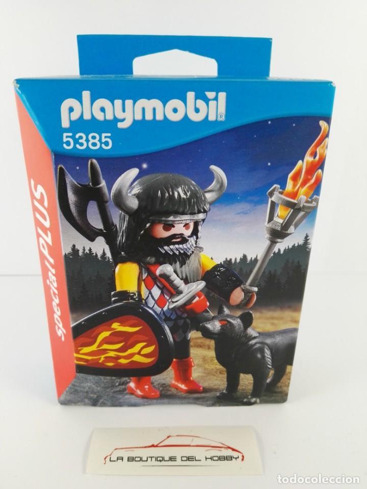 GUERRERO LOBO PLAYMOBIL SPECIAL PLUS 5385 (Juguetes - Playmobil)