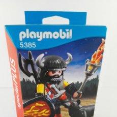 Playmobil: GUERRERO LOBO PLAYMOBIL SPECIAL PLUS 5385. Lote 132401750
