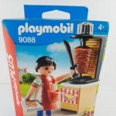 Playmobil: VENDEDOR DE KEBAB PLAYMOBIL SPECIAL PLUS 9088. Lote 132401894