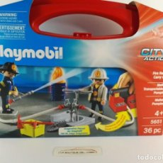 Playmobil: MALETIN GRANDE BOMBEROS PLAYMOBIL CITY ACTION 5651. Lote 132408902