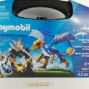 Playmobil: MALETIN CABALLEROS DEL DRAGON PLAYMOBIL KNIGHTS 5657. Lote 132409298