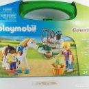Playmobil: MALETIN CUIDADO DE CABALLOS PLAYMOBIL COUNTRY 9100. Lote 132409450