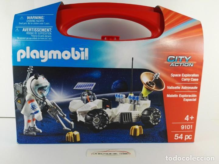 MALETIN EXPLORACION ESPACIAL PLAYMOBIL CITY ACTION 9101 (Juguetes - Playmobil)