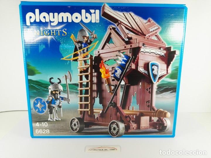 TORRE DE ATAQUE DE LOS CABALLEROS DEL HALCON PLAYMOBIL KNIGHTS 6628 (Juguetes - Playmobil)