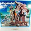Playmobil: TORRE DE ATAQUE DE LOS CABALLEROS DEL HALCON PLAYMOBIL KNIGHTS 6628. Lote 132412458