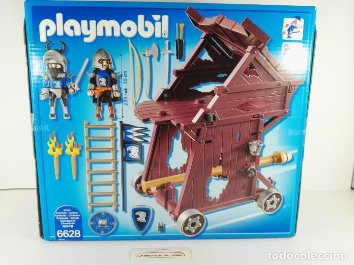 Playmobil: TORRE DE ATAQUE DE LOS CABALLEROS DEL HALCON PLAYMOBIL KNIGHTS 6628 - Foto 2 - 132412458