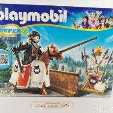 Playmobil: RYPAN GUARDIAN DEL BARON NEGRO PLAYMOBIL SUPER 4 6696. Lote 132412986