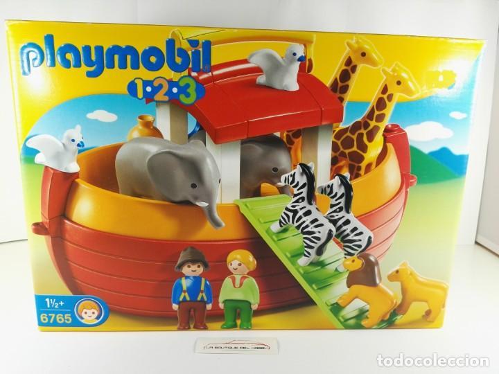 MALETIN ARCA DE NOE PLAYMOBIL 1-2-3 6765 (Juguetes - Playmobil)