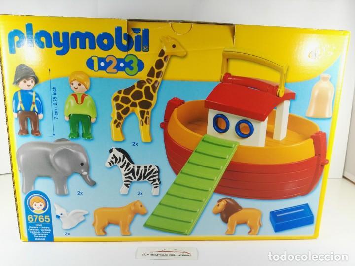 Playmobil: MALETIN ARCA DE NOE PLAYMOBIL 1-2-3 6765 - Foto 2 - 132415094