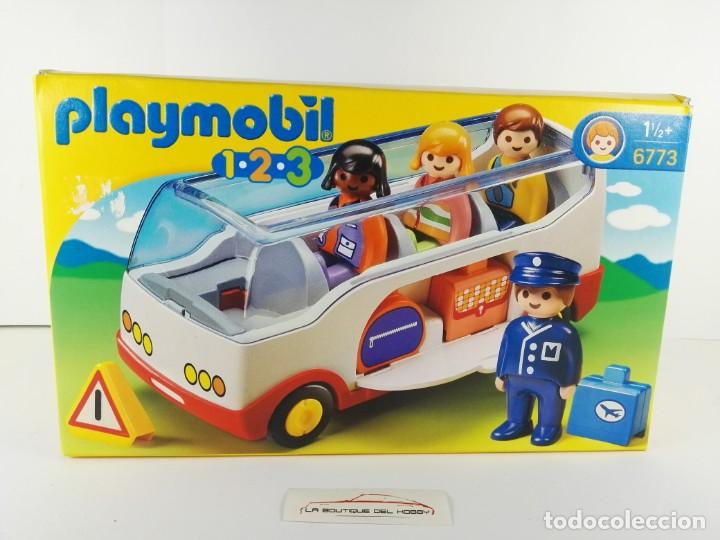 AUTOBUS PLAYMOBIL 1-2-3 6773 (Juguetes - Playmobil)