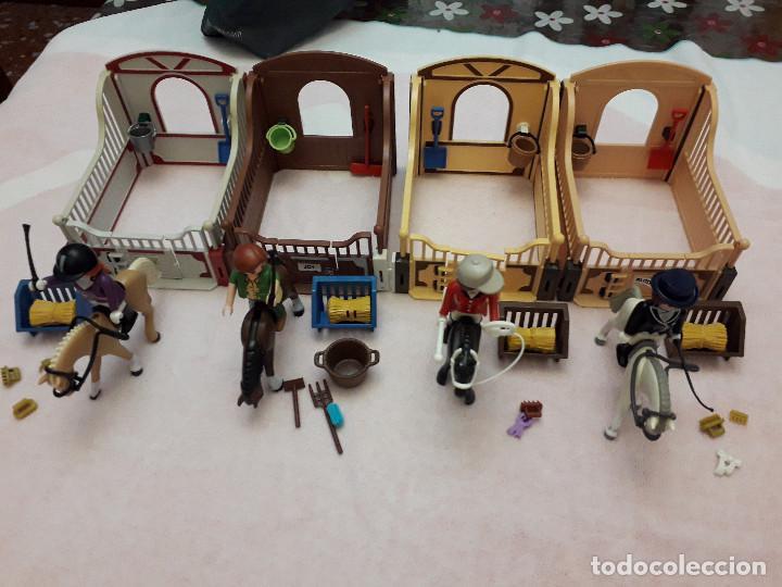 07-00558-59-60-61 PLAYMOBIL PACK 4 CUADRAS (Juguetes - Playmobil)
