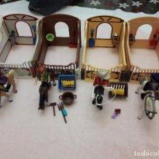Playmobil: 07-00558-59-60-61 PLAYMOBIL PACK 4 CUADRAS. Lote 132524622