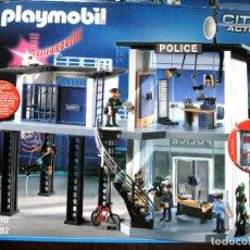 Playmobil: 5182 PLAYMOBIL CITY ACTION - CAJA VACÍA + INSTRUCCIONES - COMISARÍA POLICÍA. Lote 132537406