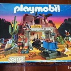 Playmobil: MINA DE ORO PLAYMOBIL REF. 3802 COMPLETA. Lote 132737922