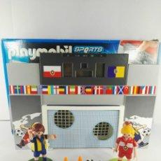 Playmobil: FUTBOL JUEGO DE PUNTERIA CON MARCADOR ELECTRONICO PLAYMOBIL 4726. Lote 132917426