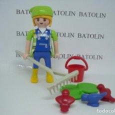 Playmobil: PLAYMOBIL FIGURAS MUJER GRANJERA CIUDAD. Lote 133212754