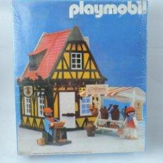 Playmobil: CAJA PLAYMOBIL CASA MEDIEVAL BELEN ALFARERIA TORNO, REF. 3455 MEDIEVALES, A ESTRENAR, PRECINTADA.. Lote 133289506