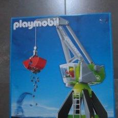 Playmobil: SET PLAYMOBIL REFERENCIA 4470 GRUA AÑO 2004. Lote 133428638
