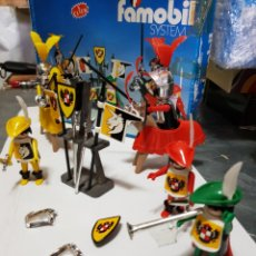 Playmobil: FAMOBIL TORNEO MEDIEVAL 3265 CON CAJA ORIGINAL MADE IN SPAIN. Lote 133736754