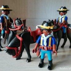 Playmobil: PLAYMOBIL, LOTE,SOLDADOS, OESTE,WESTERN, NORDISTAS, SUDISTAS, CABALLERIA, CUSTOM,. Lote 133855414