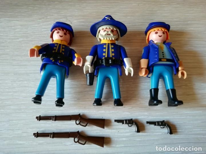 Playmobil: playmobil, lote,soldados, oeste,western, nordistas, sudistas, oficial, custom, infanteria. - Foto 2 - 134059386