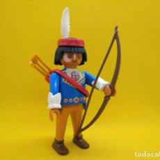 Playmobil: PLAYMOBIL CAZADOR LOBO ARQUERO INDIO SPECIAL REF 4541. Lote 134059606