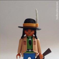 Playmobil: PLAYMOBIL FIGURA INDIO NORDISTA POBLADO INDIOS FUERTE OESTE WESTERN VARIOS PIEZAS. Lote 134109646