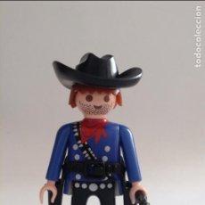 Playmobil: PLAYMOBIL FIGURA FORAJIDO BARBA VAQUERO GRANJA INDIOS FUERTE OESTE WESTERN VARIOS PIEZAS. Lote 134109786