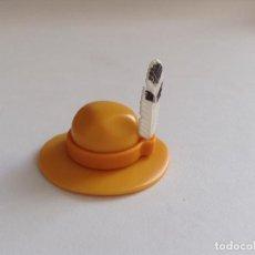 Playmobil: PLAYMOBIL SOMBRERO CINTA PELO PLUMAS INDIOS POBLADO INDIO OESTE WESTERN PIEZAS. Lote 134116090