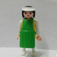 Playmobil: PLAYMOBIL, MUJER, DEPENDIENTA, TIENDA, MERCADO, MEDIEVAL, CITY, OESTE, DELANTAL, ACCESORIOS. Lote 134158642