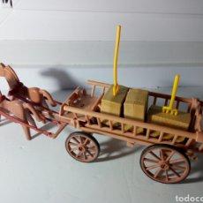 Playmobil: PLAYMOBIL. ANTIGUA CARRETA CAMPESINA. IDEAL BELEN, GRANJA, MEDIEVAL, ETC. Lote 134332678