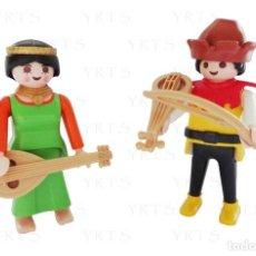 Playmobil: PLAYMOBIL 6464 - TROVADORES EDAD MEDIA MEDIEVAL ¡NEW!. Lote 134415582